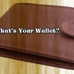 Crypto, What's Your Wallet?